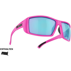 Bliz Drift Okulary, matte pink/smoke/blue multi